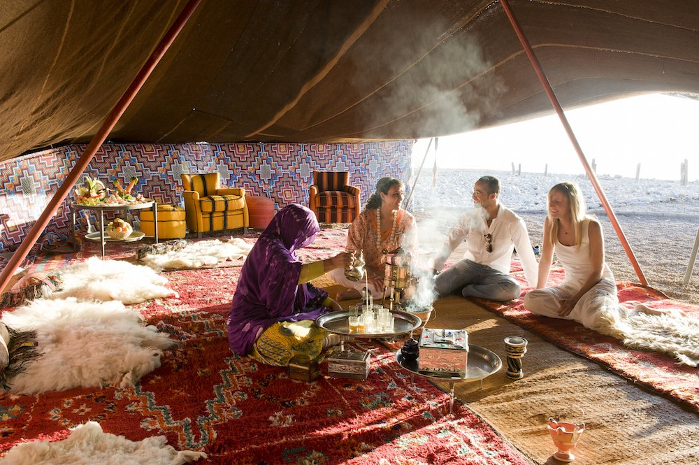 Romantic desert excursion in Morocco