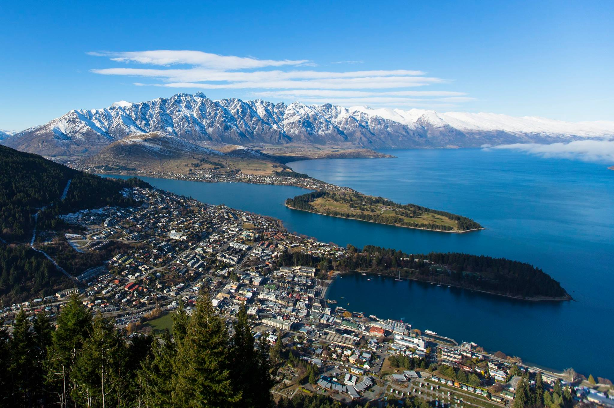 Queenstown has a unique and spectacular setting, surrounded by The Remarkables
