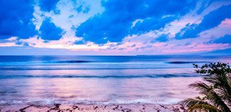 Surf and sunsets on your doorstep in Krui, Mainland Sumatra.