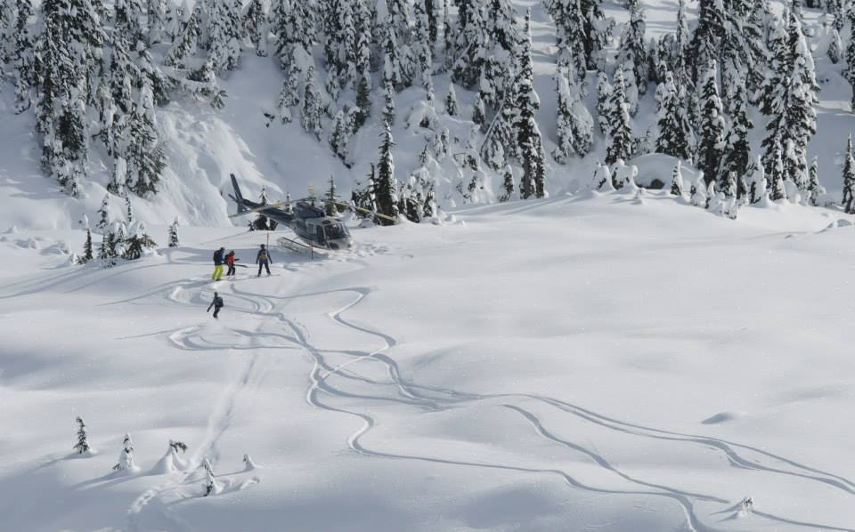 Powder Moutain Heliskiing in Whistler