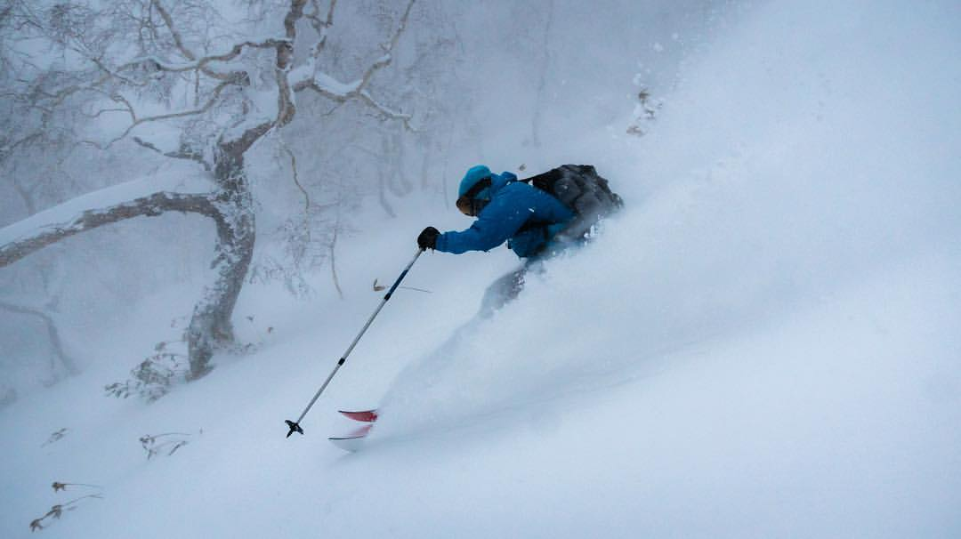 Backcountry skiing in Japan!