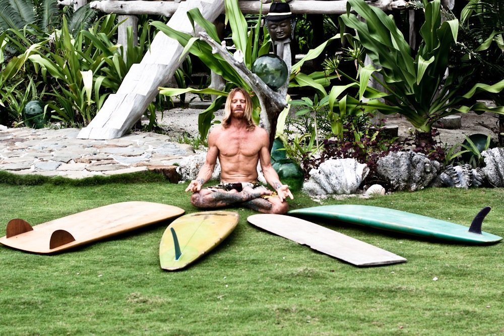 yoga & surfing go well together