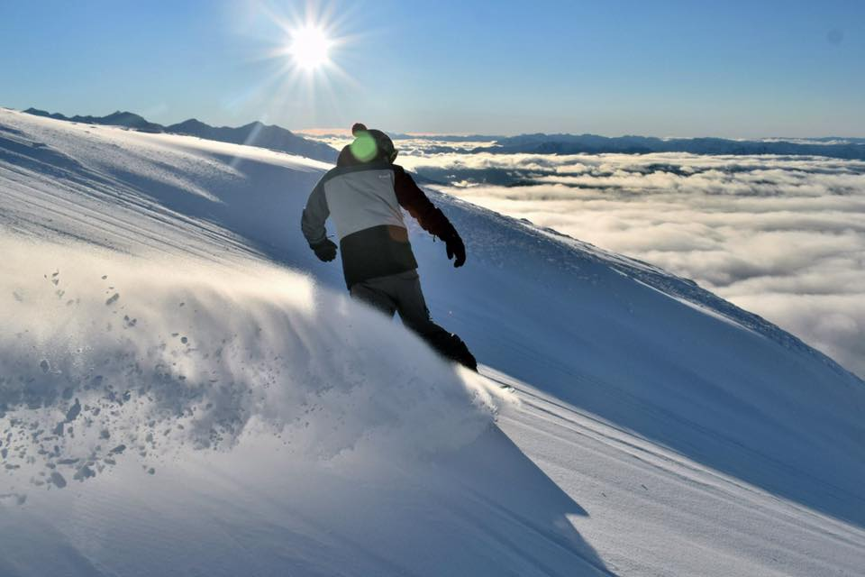 Splitboarding with Haka Tours New Zealand