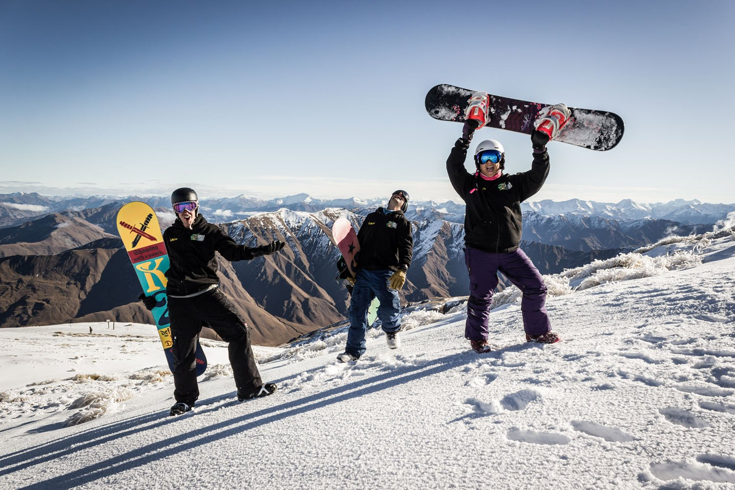 Snowboarding in NZ