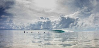 Glassy perfection in the Mentawais
