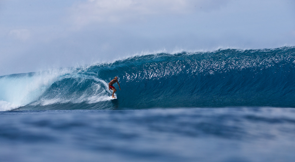 Owen Wright in the Maldives