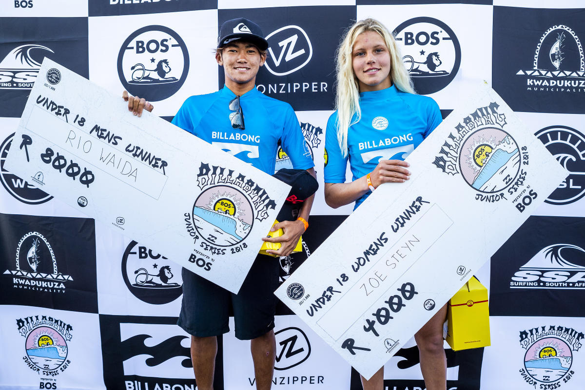 Equal pay in surfing