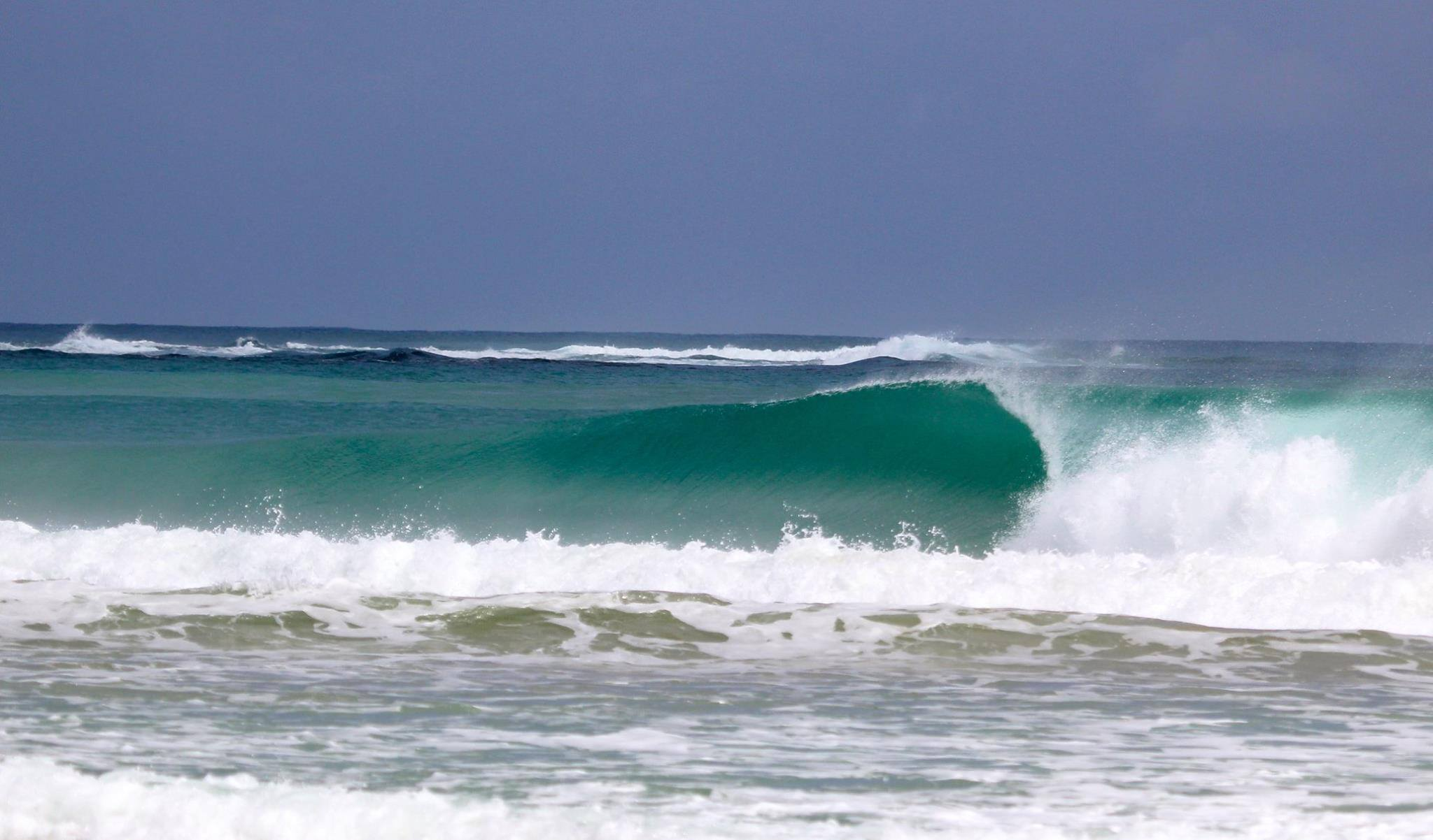 Wave in Bocas del Toro