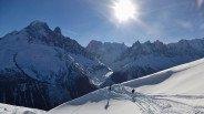 Snowboarding Chamonix