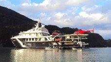 Heli Boat Trip Patagonia