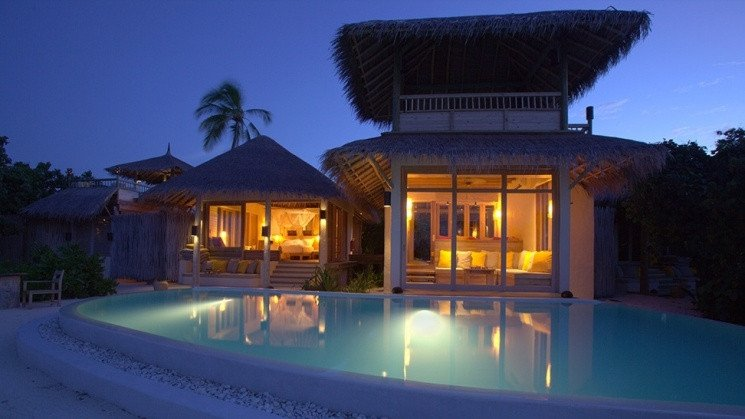 Lagoon beach villa 2 bedroom Six Senses Laamu
